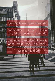 Foucault Quote
